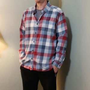 Columbia flannel button down shirt
